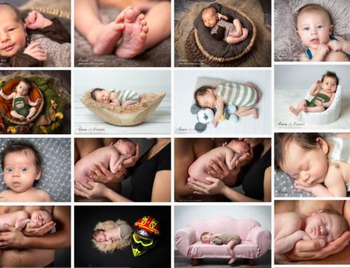 Neue Newborn-Gallery